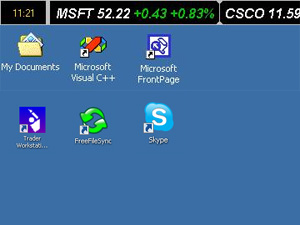 Desktop Stock Ticker