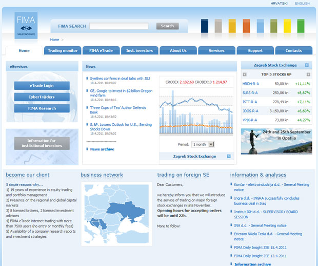 FIMA Securities Web